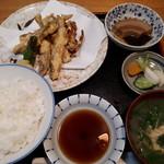 梅田 - ワカサギと野菜の天ぷら