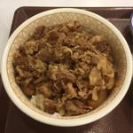 すき家 - 牛丼(特盛)