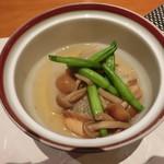 77708901 - 秋鮭と海老芋の炊き合わせ
