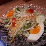 神楽坂 料理 やま本 - キャベツサラダ
