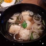 神楽坂 料理 やま本 - 味噌汁 美味しいです