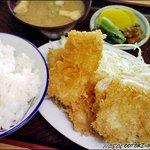 7771359 - いかフライ定食(半ライス)535円