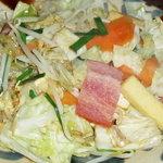 あんつく - 豆腐チャンプルー