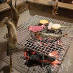 別館 山の宿 - 焼き魚も