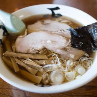 旅館 琴平荘 中華そば処 - 料理写真:中華そば(こってり)