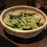 焼鳥 城 - 枝豆