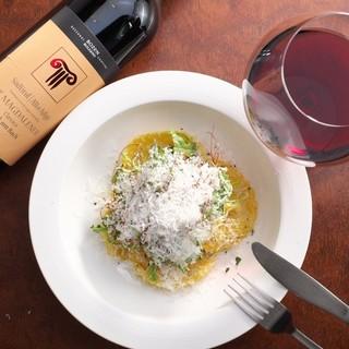 ★ワインとタパスを楽しむ♪種類豊富なイタリアワイン♪