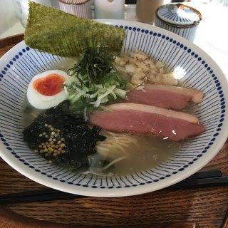 真鯛らぁー麺 日より - 料理写真: