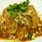 四川料理 笹華 - 冷製よだれ鶏