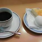 コーヒーショップブルースカイ - 料理写真:モーニングセット