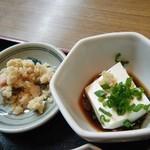 山しげ - かつ丼(おから&豆腐)