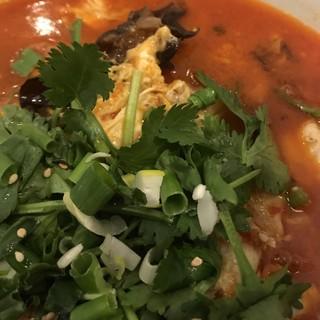 サイアムヘリテイジキッチン ラゾーナ川崎プラザ店 - タイスキ春雨湯麺。 美味し。
