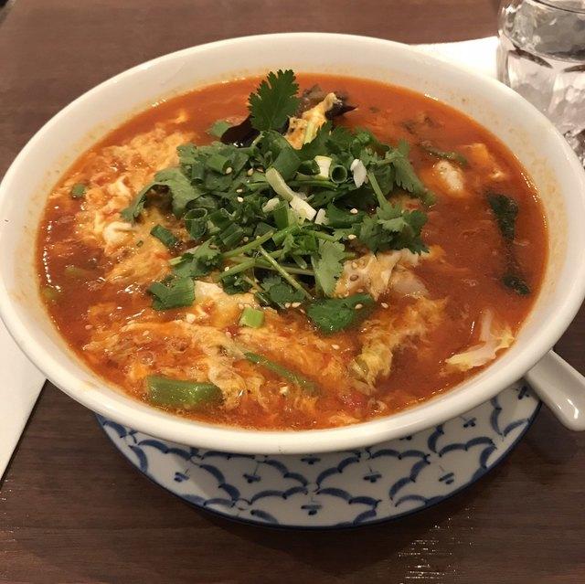 サイアムヘリテイジキッチン ラゾーナ川崎プラザ店 - タイスキ春雨湯麺。 税込1130円。 美味し。