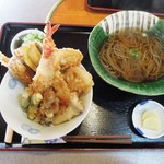 隠れ庵 - 料理写真:天丼定食