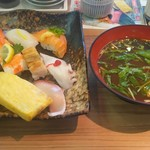 さんきゅう新庄店 - 料理写真:サービスセット790円(税込み)