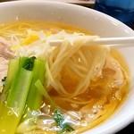 麺の風 祥気 - 麺の風 祥気@長岡 しおそばの麺