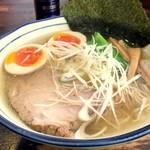 拉麺 阿吽 - 鰯拉麺(大盛)+味玉