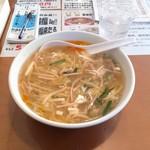 満福 - 料理写真:まんぷくらーめん 塩