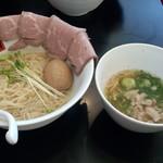 77723915 - 贅沢塩つけ麺(980円)
