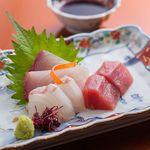 レストラン希星 - 時期によって旬のお魚を刺身で♪