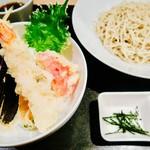 EBISU FRY BAR - 天丼+ざる蕎麦