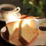 NAGICOFFEE - モーニングのトースト