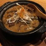 酒と料理のなつ - 和牛の牛スジどて焼き(税抜730円)