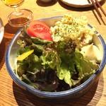 酒と料理のなつ - なつ風ポテトサラダ(税抜500円)