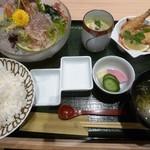 魚留 - あんこう鍋&雑炊定食