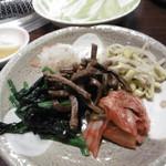 焼肉喜楽 - ナムル