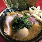 77731282 - チャーシューメン+野菜畑+白玉(くずれ) ¥810+60+10