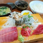 磯料理 魚の「カネあ」 - 料理写真:お刺身定食