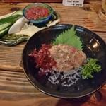 五郎 - 料理写真:寒ブリのなめろう