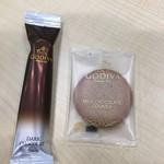 ゴディバ - ショコラロールクッキーとクッキー