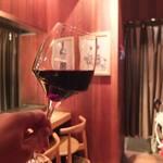 鉄板バンビーナbyうしごろ - 肉に合わせて赤ワインも