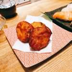 魚河岸酒場 FUKU浜金 - チーズさつま揚げ(お裾分け)