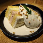 Gardens Pasta Cafe ONS - 本日のケーキ(イチゴショート)