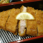 豚カツと和食 のぶたけ - 「ローストンカツ御膳(120g)」ロースカツ