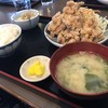 ちとせ食堂 - 料理写真:鶏唐揚げ定食(750円)