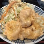 ちとせ食堂 - エビマヨ定食(850円)
