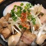 中華そば さかきや - 炙り肉玉丼