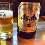 旬肴地酒 寅八 - まずはビールから♪