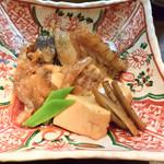 旬肴地酒 寅八 - クエ(三重県九鬼漁港産の煮付けは絶品でした。
