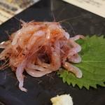 原宿タップルーム - 桜えび刺