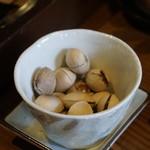 原宿タップルーム - 塩炒り銀杏