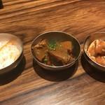 松庵 韓菜房 - 韓国小鉢3品(サンパセットに付いてきます)
