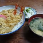 77746014 - 天丼&お新香