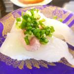 廻転とやま鮨 - カワハギ