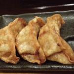 白菜タンメン楽観 - 揚げ餃子3個280円