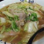 白菜タンメン楽観 - 白菜タンメン750円